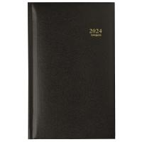 Brepols Interplan 736 agenda de poche couverture Lima noire