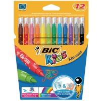 Bic Kids couleur feutres de couleur assorti - boîte de 12
