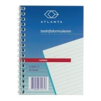 Jalema Atlanta A206012 carnet spiralé 148x105mm ligné 50 feuilles