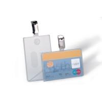 Durable 8113 badge pour carte magnétique 90x54mm - paquet de 25