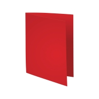 Exacompta Foldyne fardes chemises carton 180g rouge - paquet de 100