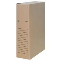 Boîte d archives A4 23x32xdos 8cm carton sans acide 650g
