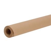 Rouleau papier kraft pour emballage et expédition 1x10m brun