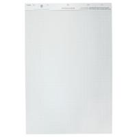 Lyreco feuilles de conférence recyclées 50 pages de 80g 65x100cm - paquet de 2