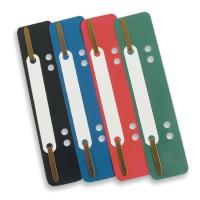 Accessoires archivage attaches flexi vertes - boîte de 100