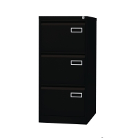 Bisley Basic armoire à archives pour dossiers suspendus 3 tiroirs H102 cm noir