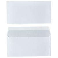 Enveloppes FSC 110x220mm bande siliconée 80g - boite de 500