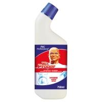 Mr. Proper Gel WC nettoyant toilettes pour hygiène toilette 750 ml