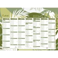 Exacompta Forever calendrier 2x7 mois 40,5x55cm bilingue NL et FR