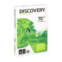 Discovery papier blanc écologique A4 70g - 1 boite = 5 ramettes de 500 feuilles