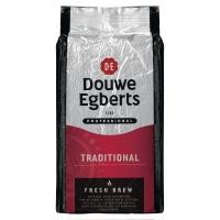 Douwe Egberts café Fresh Brew Traditional Rouge - paquet de 1000 grammes