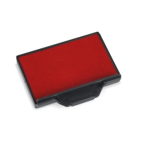Trodat 6/56 feutre rouge 56x33mm pour 5460, 5460/L, 5206 - Paquet de 2