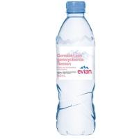 Evian eau non pétillante bouteille 0,5l - paquet de 24