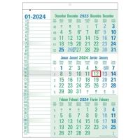 Green Collection calendrier 3 mois 30 x 43 cm