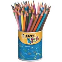 Bic Kids Evolution crayons couleur assorti - le pot de 60