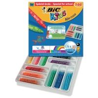 Bic Kids Couleur feutres couleur assorti - le paquet de classe de 144