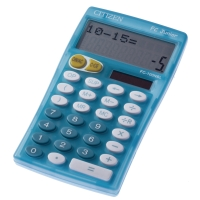 Citizen FC-100N Junior calculatrice bleu