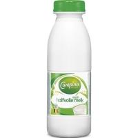 Campina lait demi-écrémé bouteille en plastique 50cl - paquet de24