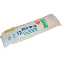 Sac poubelle biodégradable 87x130cm ou 140l - paquet de 12