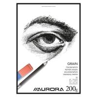 Buroclass papier à dessin A4 200 gr 20 pages blanc