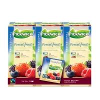 Pickwick sachet thé Fruits de bois - paquet de 3 x 25