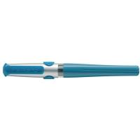 Pelikan stylo à plume Pelikano droitier bleu