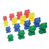Oursons de triage en 4 formats et 4 couleurs - le paquet de 96