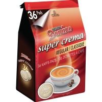 Domino pads de café regular - paquet de 36