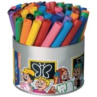Bruynzeel Triple feutres couleurs assorties - le paquet de 60