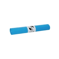 Sac poubelle 18 microns HDPE 80cmx110cm bleu - rouleau de 20