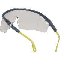 Delta Plus Kilimandjaro PC lunettes de sécurité gris/jaune - lentille claire