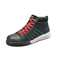 Bata Bickz 733 S3 sneakers haut noir - taille 43 - la paire