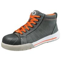 Bata Bickz 731 S3 sneakers haut gris - taille 42 - la paire