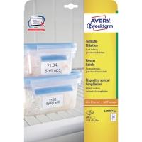 Avery L7971 étiquettes pour congélateur 38,1x21,2mm - boite de 1625