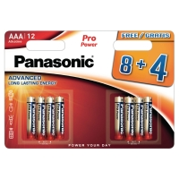 Panasonic LR3/AAA Pro Power piles alcalines -paquet de 12