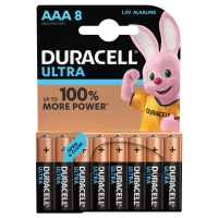 Duracell Ultra Power AAA batteries alcalines - paquet de 8
