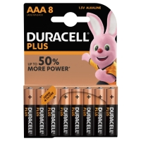 Duracell Plus Power AAA batteries alcalines - paquet de 8