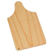 Planchette en bois 110 x 150 x 8 mm