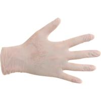 CMT 1102 gants jetables en nitrile non poudré blanc - taille S - 100 pièces