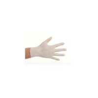 CMT 1103 gants jetables en nitrile non poudré blanc - taille M - 100 pièces