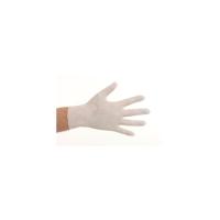 CMT 1104 gants jetables en nitrile non poudré blanc - taille L - 100 pièces