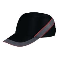 Delta Plus Air Coltan casquette anti-choc noir/rouge