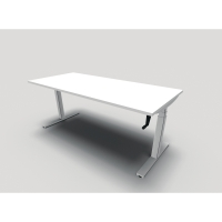 Bureau Easy up 80x180 cm hauteur réglable - manuel