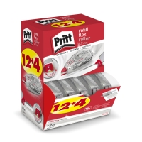 Pritt Refill Flex roller de correction 4,2mmx12m value pack 12+4 gratuit