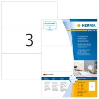 Herma etiquettes 4664 perforée 210x99mm - paquet de 300