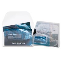 3L pochettes autocollantes à rabats 6x10,5cm - paquet de 10