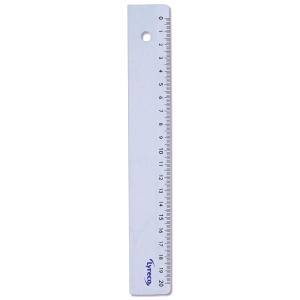 Lyreco règle scolaire en plastique 20 cm