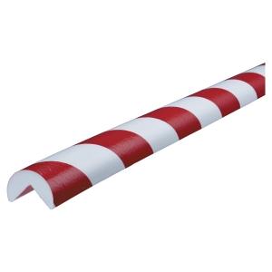 Cornière de protection pour coins Knuffi Type A PU 1m rouge/blanc