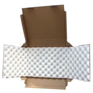 Boîte postal avec mousse 300x220x80mm - paquet de 50 pièces