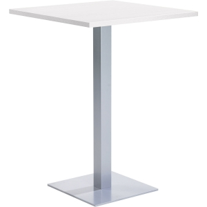 Table de snack EOL carré 80 x 105 cm blanc